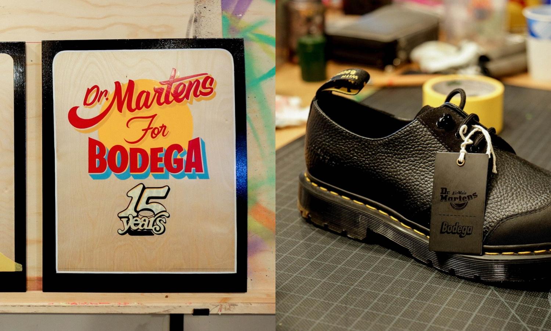 Dr.Martens x Bodega 推出全新联乘鞋款