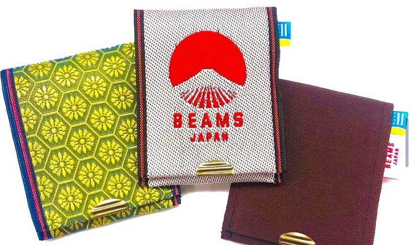 高田织物 x BEAMS JAPAN 联名卡包正式开售