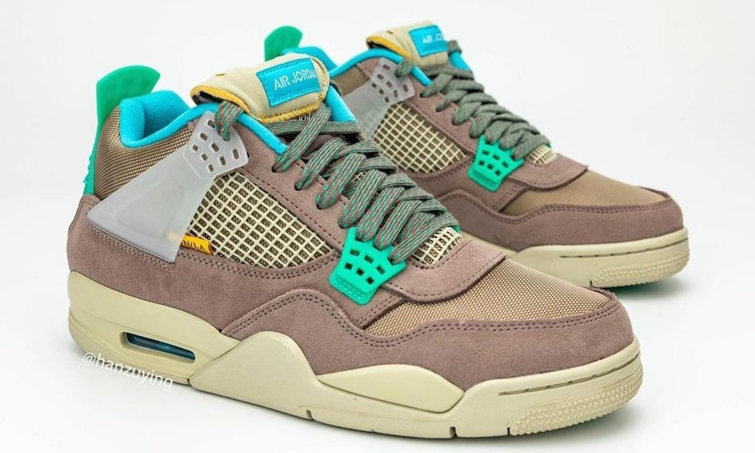 Union x Air Jordan IV 细节近赏