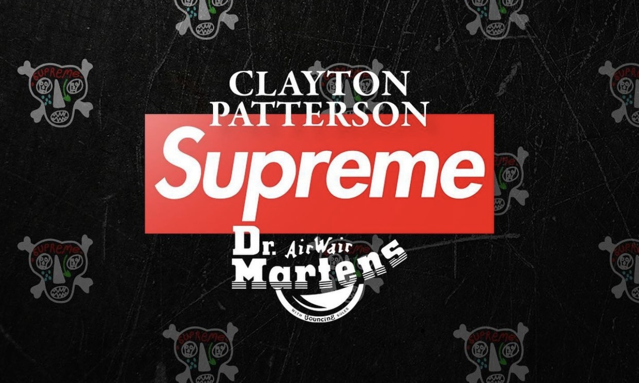 Supreme x Clayton Patterson  合作系列来袭