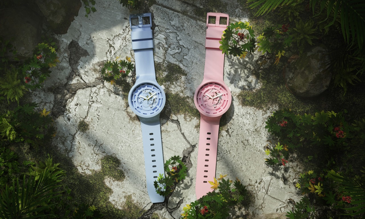 Swatch 推出全球首辑生物陶瓷材料腕表系列