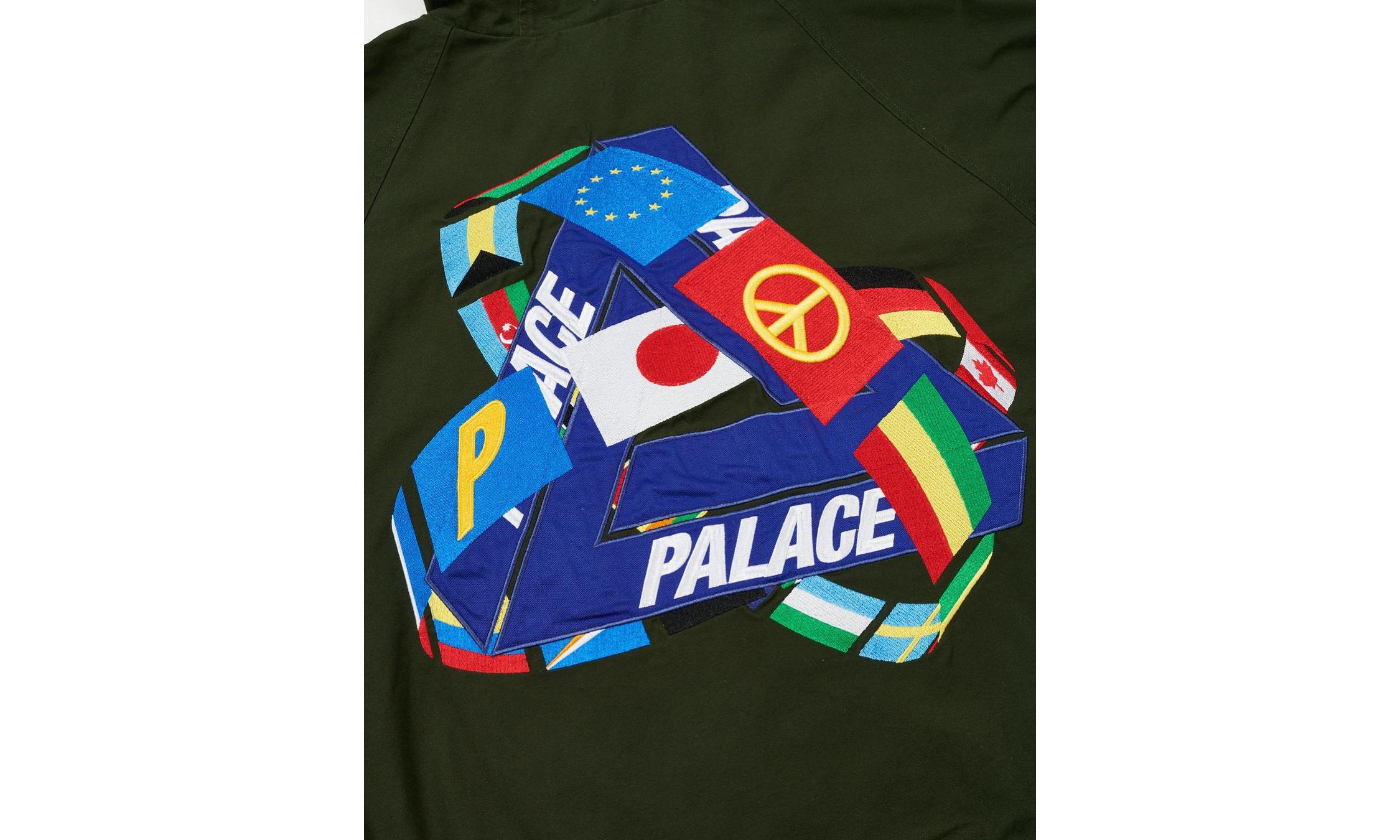 爆款预定?PALACE 发布全新三角 Logo 设计