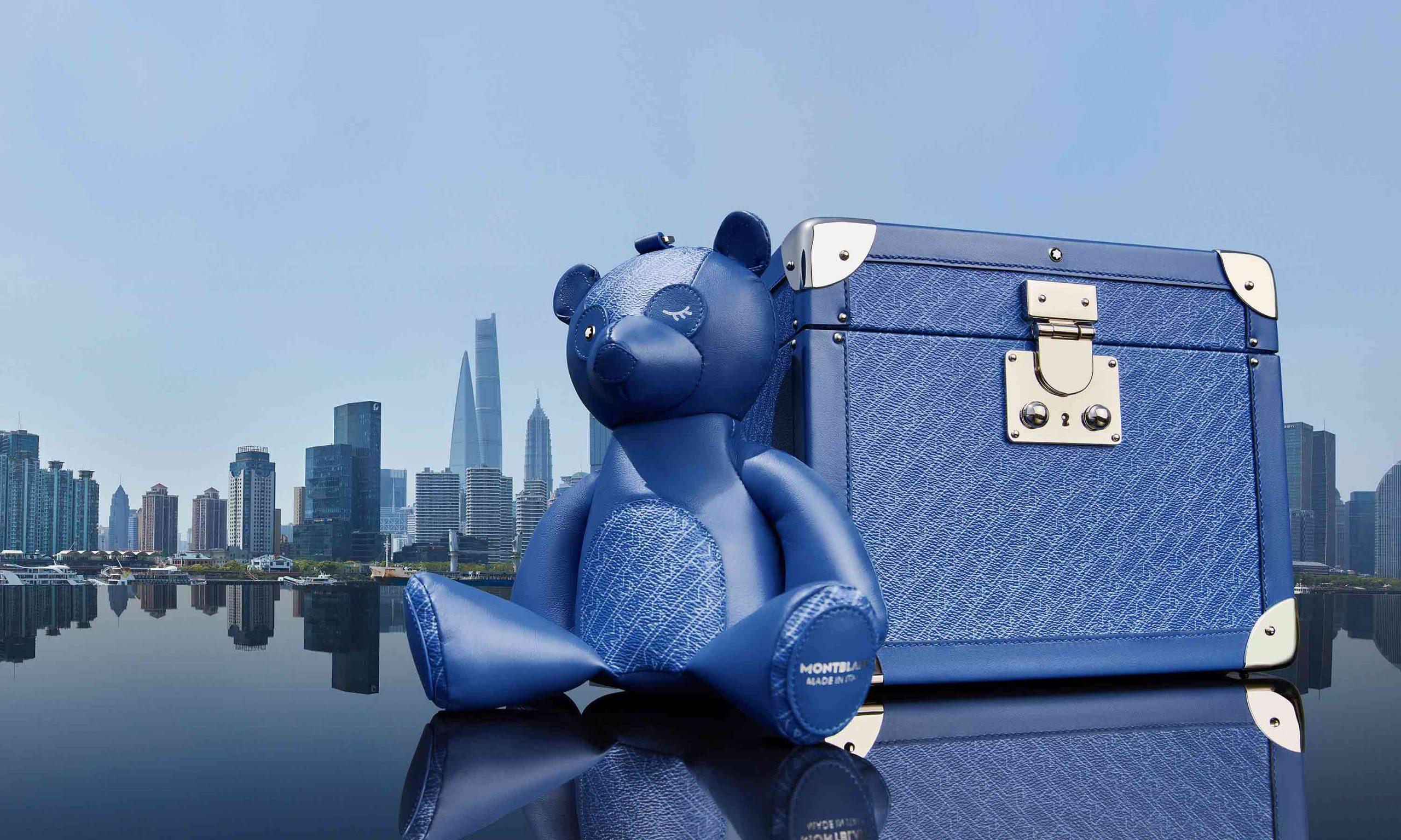 蓝调出街,万宝龙 520 特别皮具系列释出