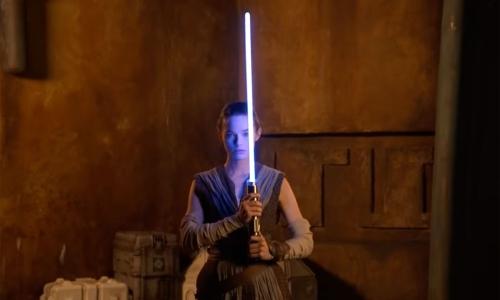 迪士尼展示《星球大战》「无实体」光剑产品