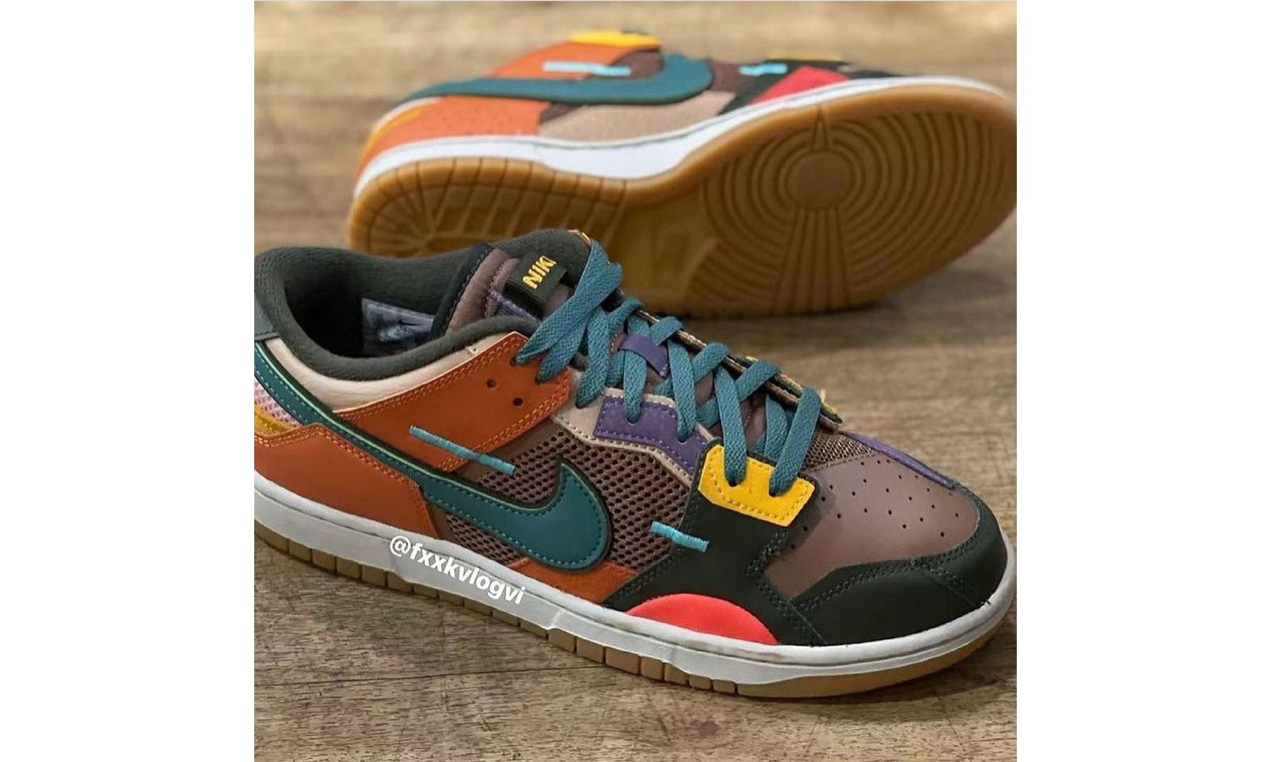 Nike Dunk Low「Archeo Brown」首度公开