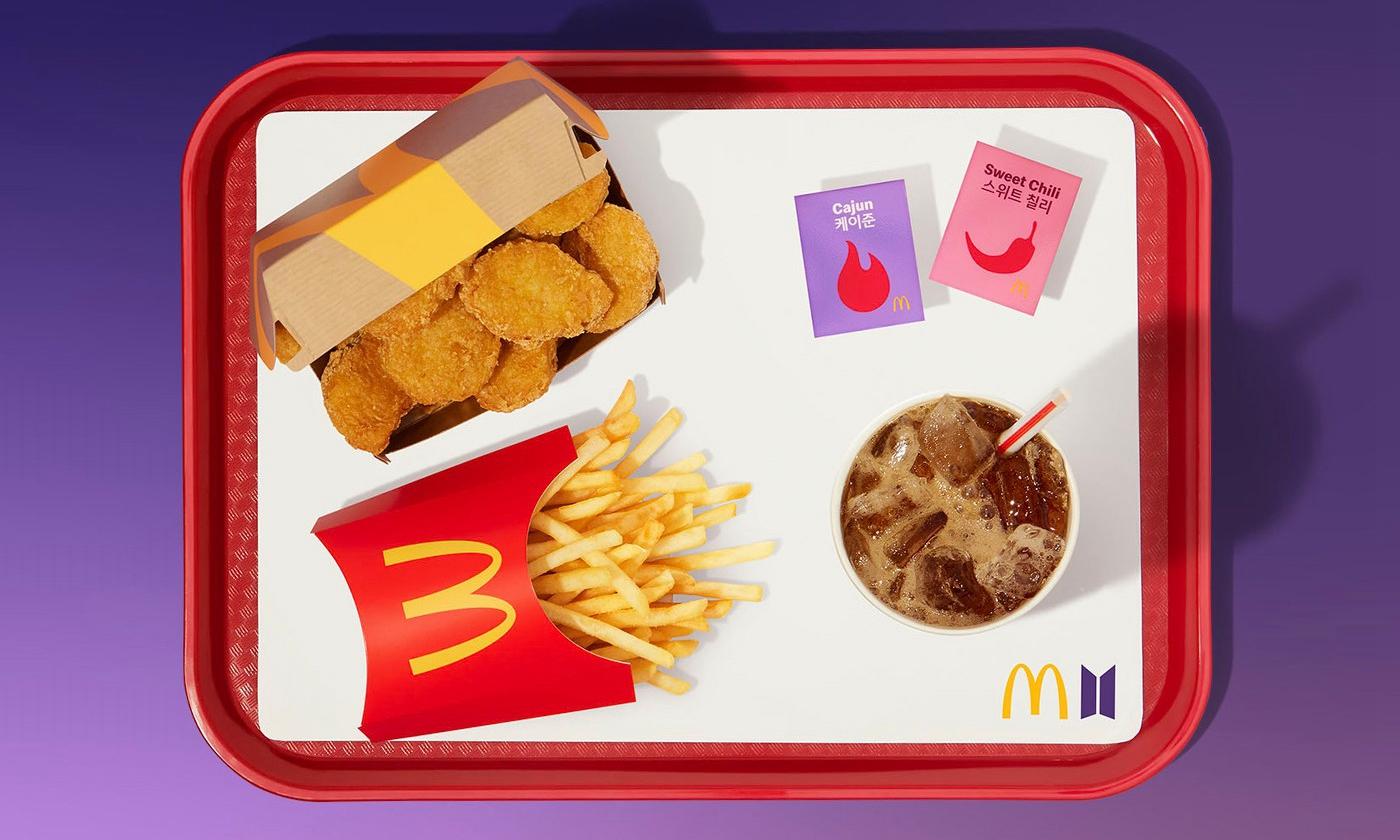 麦当劳携手防弹少年团推出全新合作系列