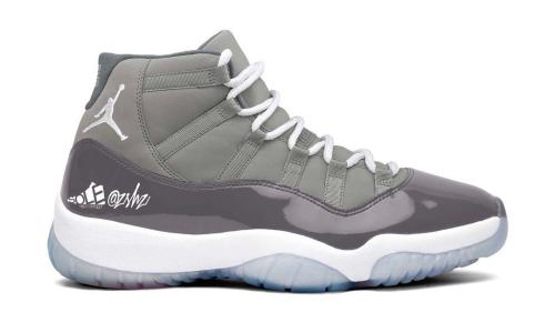 Air Jordan XI「Cool Grey」确定将于年末登场