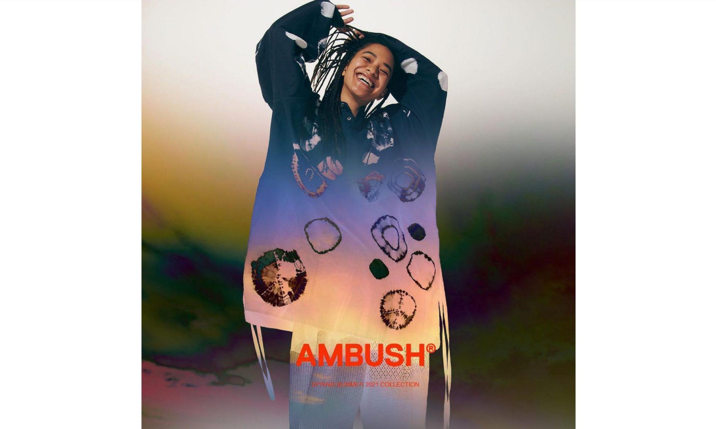 AMBUSH 「SHIBORI」系列正式登场