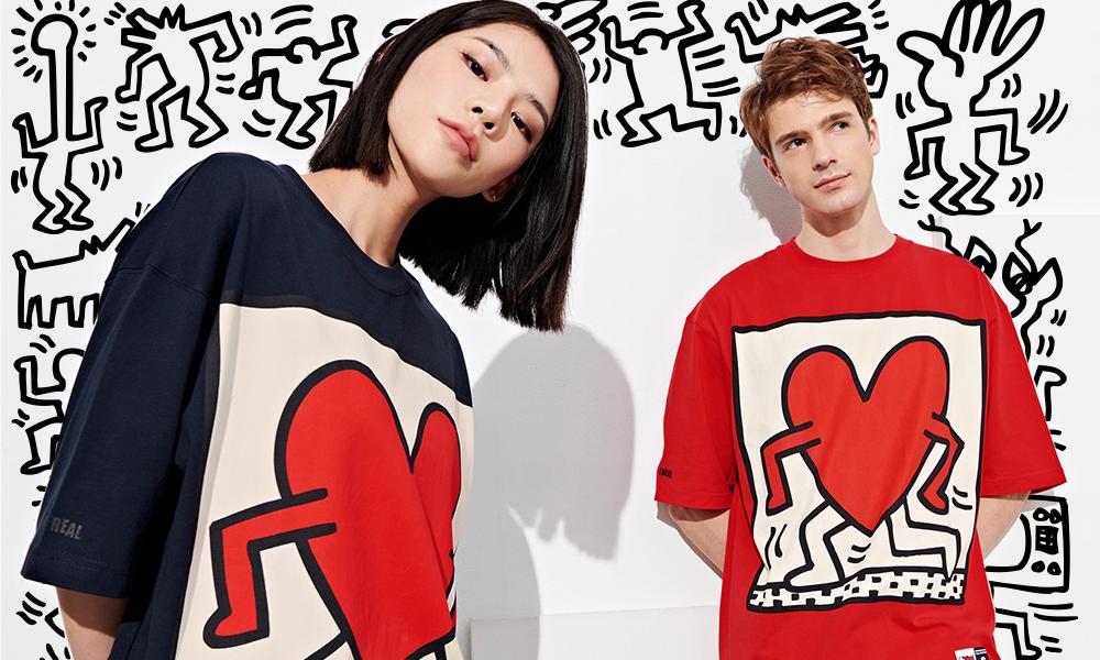 STAYREAL 推出波普艺术大师 Keith Haring 联名系列