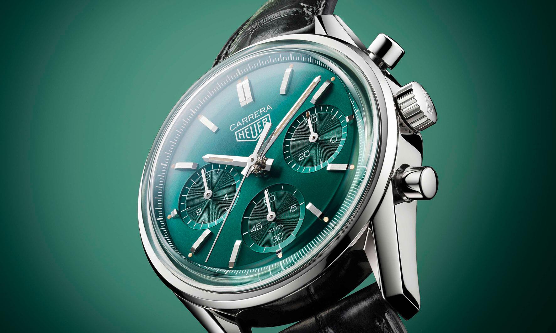 TAG Heuer 推出 Carrera 腕表绿色特别版