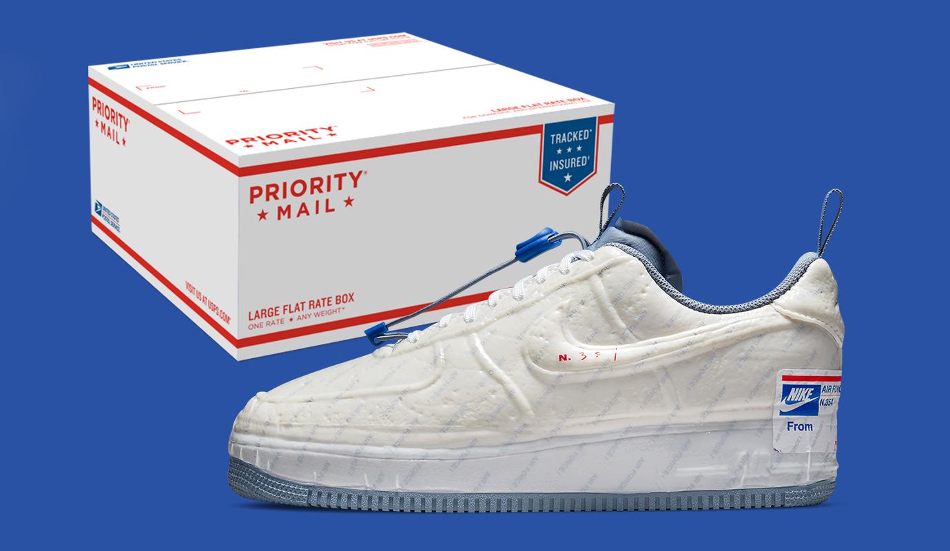 从侵权到合作,Nike 携手美国邮政署推出 Air Force 1 Experimental