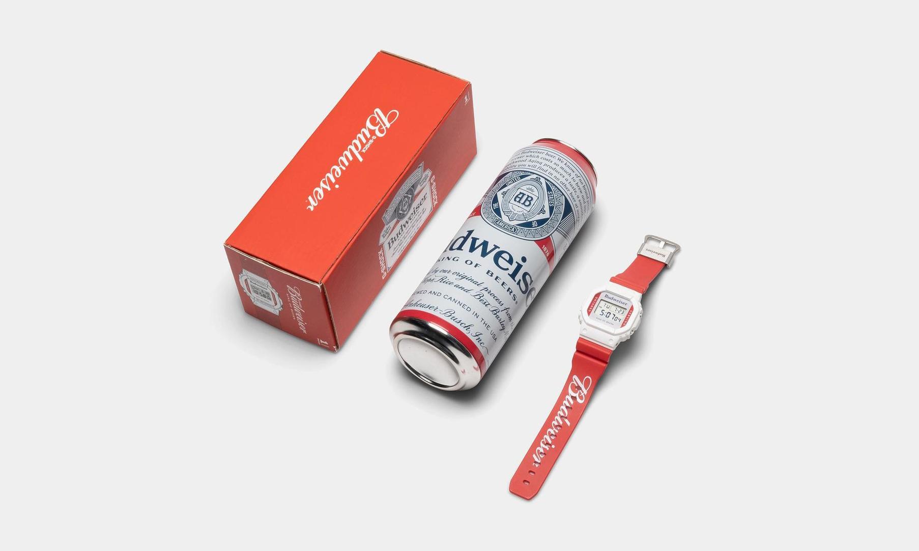 G-SHOCK x Budweiser DW5600 今日迎来发售