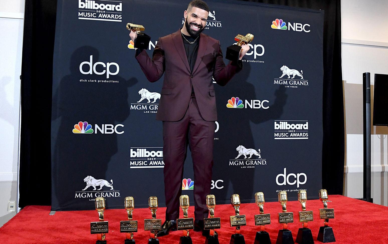 Drake 将获 2021 Billboard Awards 十年艺人奖