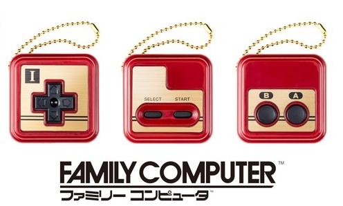 任天堂东京在日推出红白机、NES 主题的挂件扭蛋