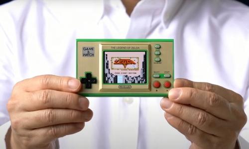 任天堂再推一款《塞尔达传说》Game & Watch