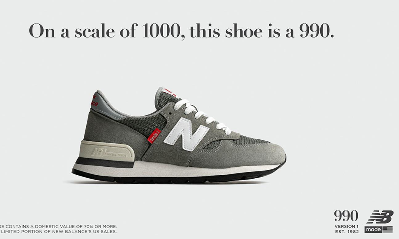 New Balance 美产 990 将复刻回归