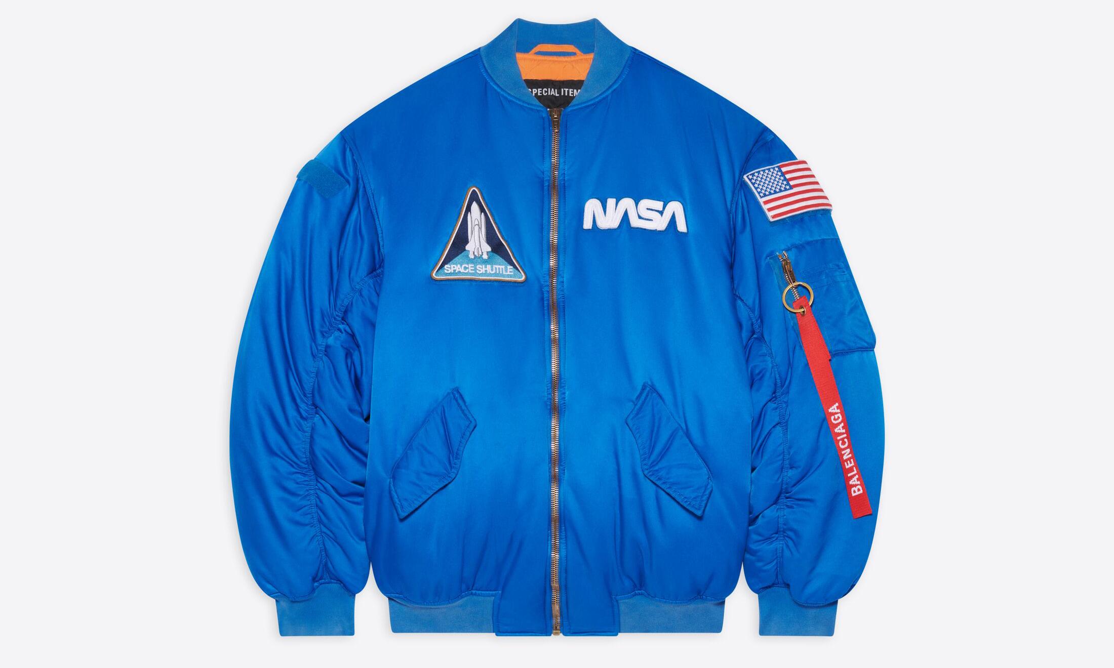 BALENCIAGA x NASA 推出合作系列