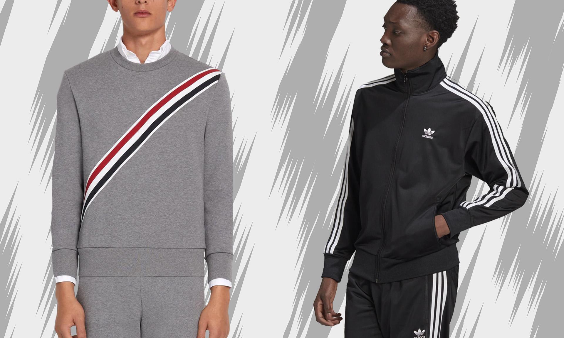 adidas 就三条纹商标起诉 THOM BROWNE