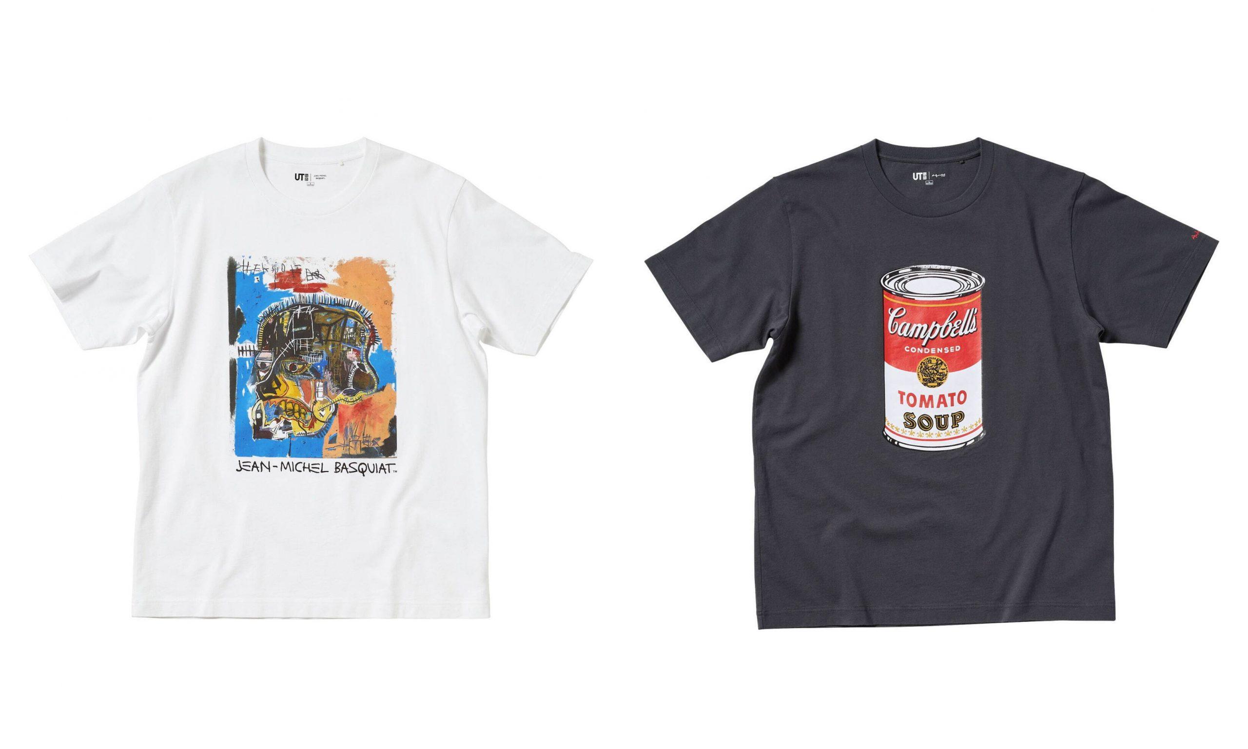 UNIQLO UT 携手 Andy Warhol、Keith Haring、Jean-Michel Basquiat 推出全新联名系列