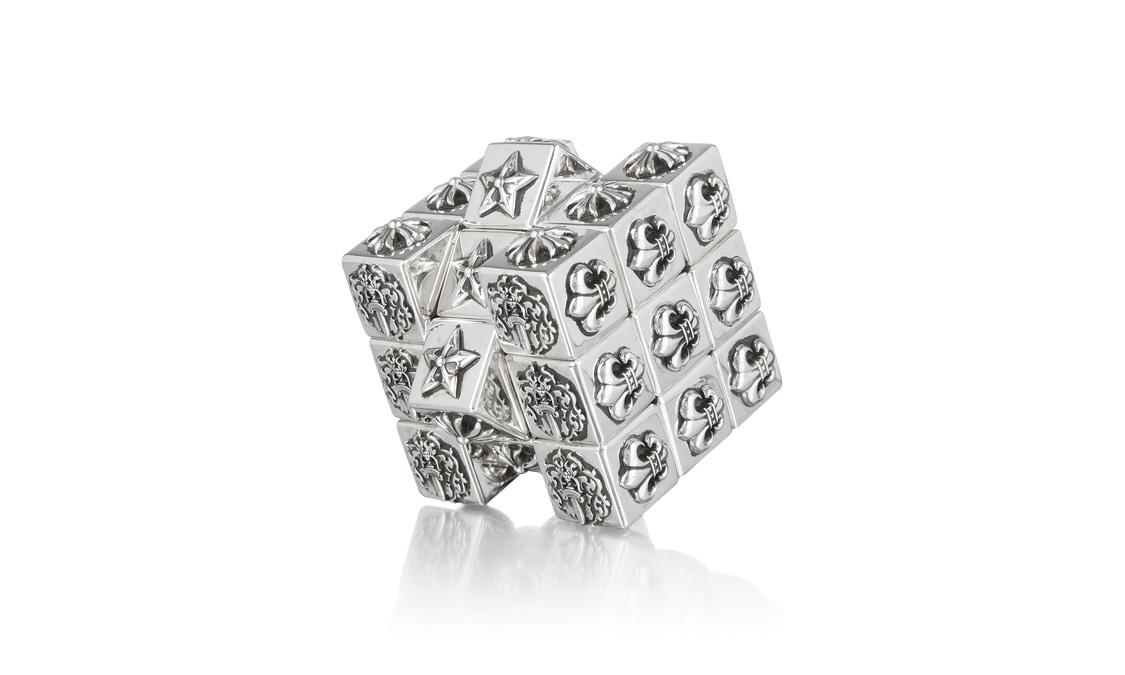 售价超 4 万块,Chrome Hearts 纯银魔方回归发售