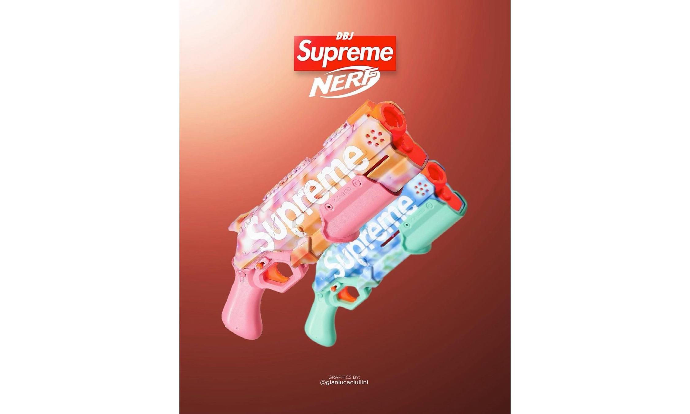Supreme 本周将携手 NERF 推出玩具枪