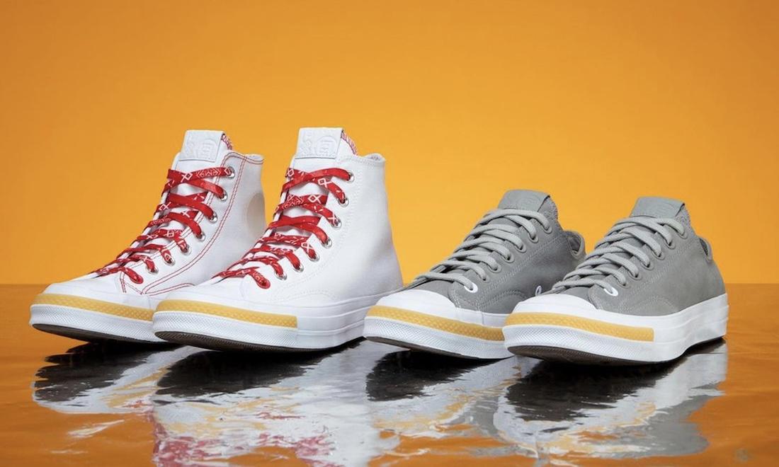 CLOT x CONVERSE Chuck 70 合作鞋款释出