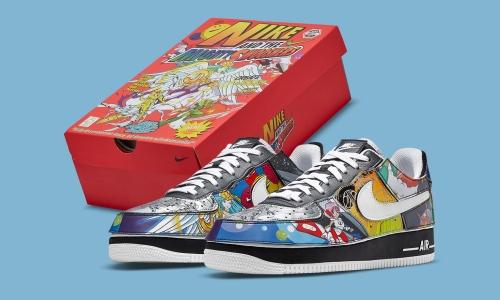 抢先预览 Nike Air Force 1/1「Nike And The Mighty Swooshers」