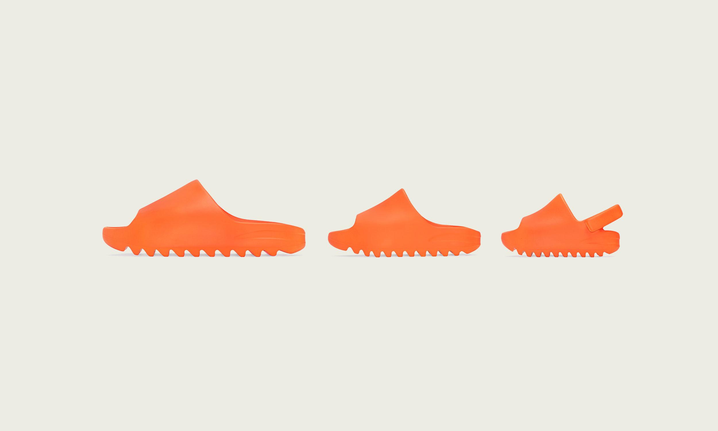 夏日必备,adidas Originals YEEZY SLIDE 再度上架发售