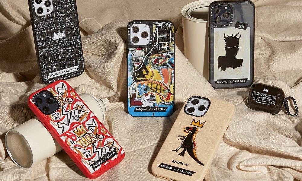 CASETiFY x Basquiat 联乘系列释出