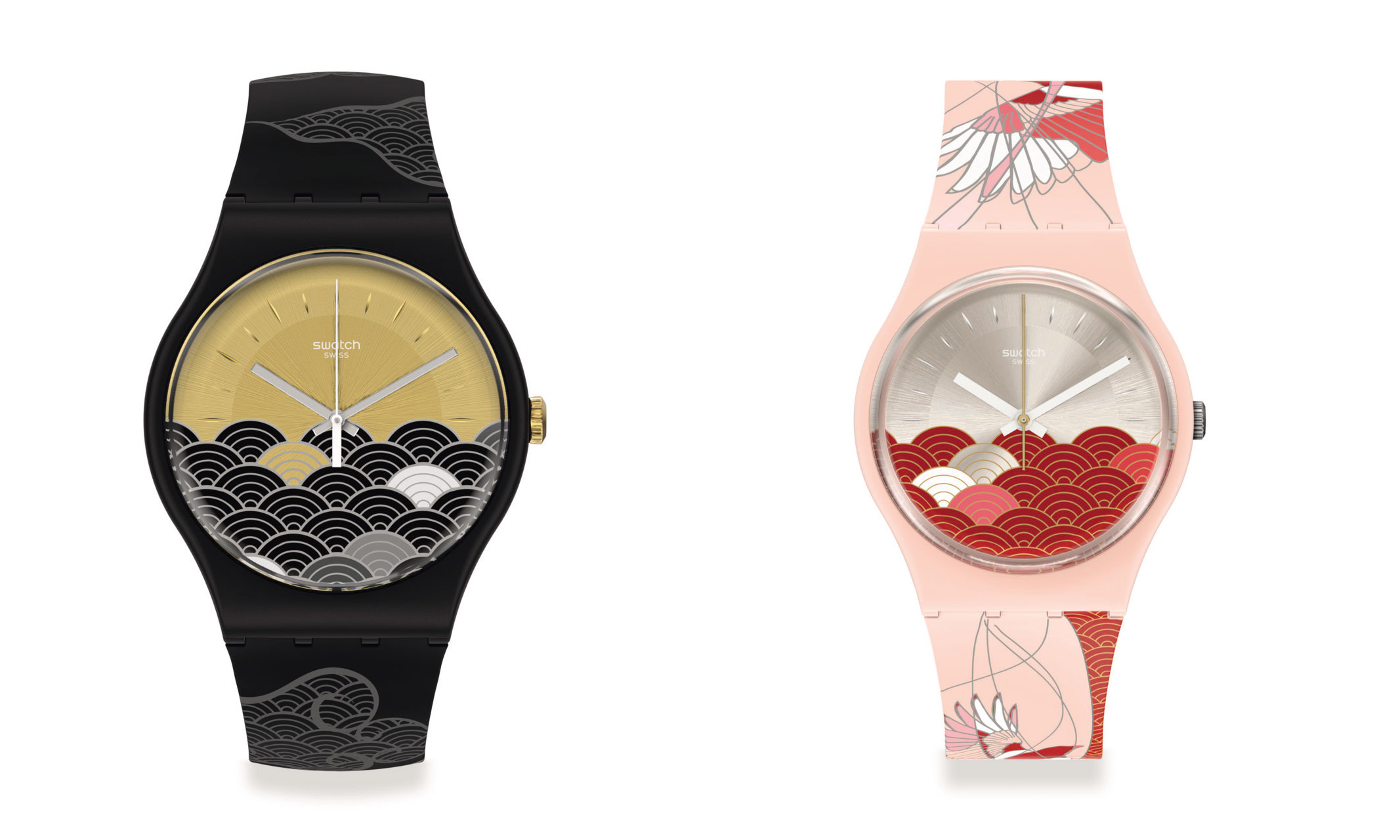 Swatch 推出 2021 七夕特别表款