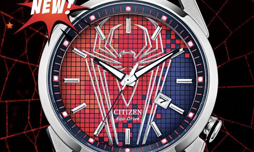 CITIZEN 打造全新漫威蜘蛛侠系列腕表