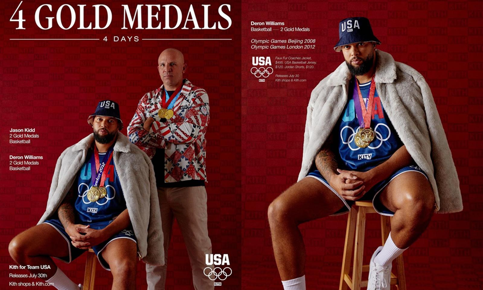 KITH 奥运会别注完整系列公开