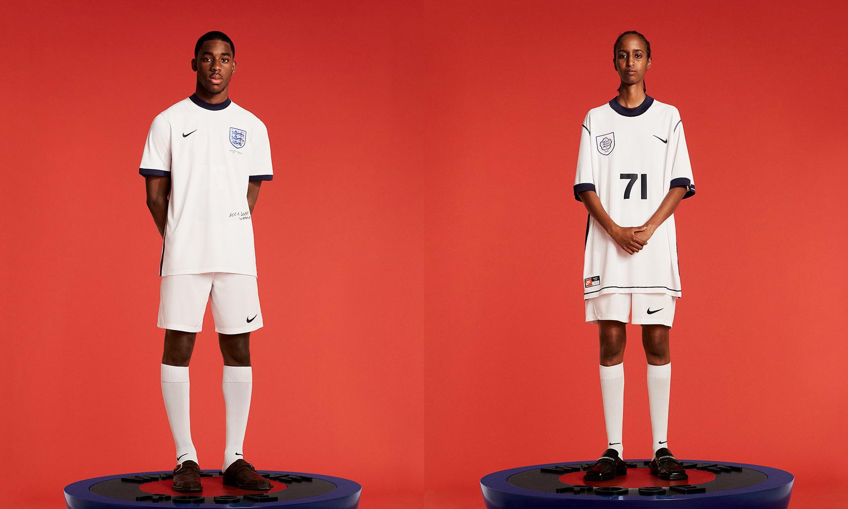Martine Rose x Nike「Lost Lionesses」英格兰球衣系列登场