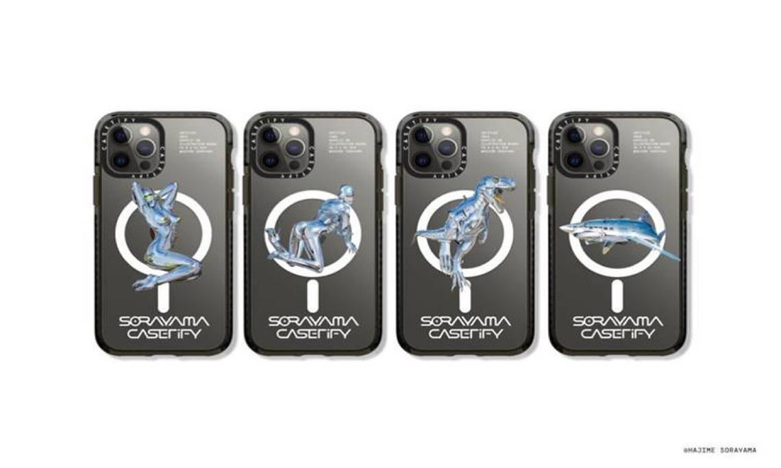 CASETiFY x 空山基联名系列即将发售-Blackwings官网-男士形象改造-穿搭设计顾问-男生发型-素人爆改