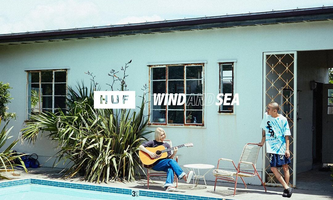 WIND AND SEA 发布与 HUF 全新联乘企划