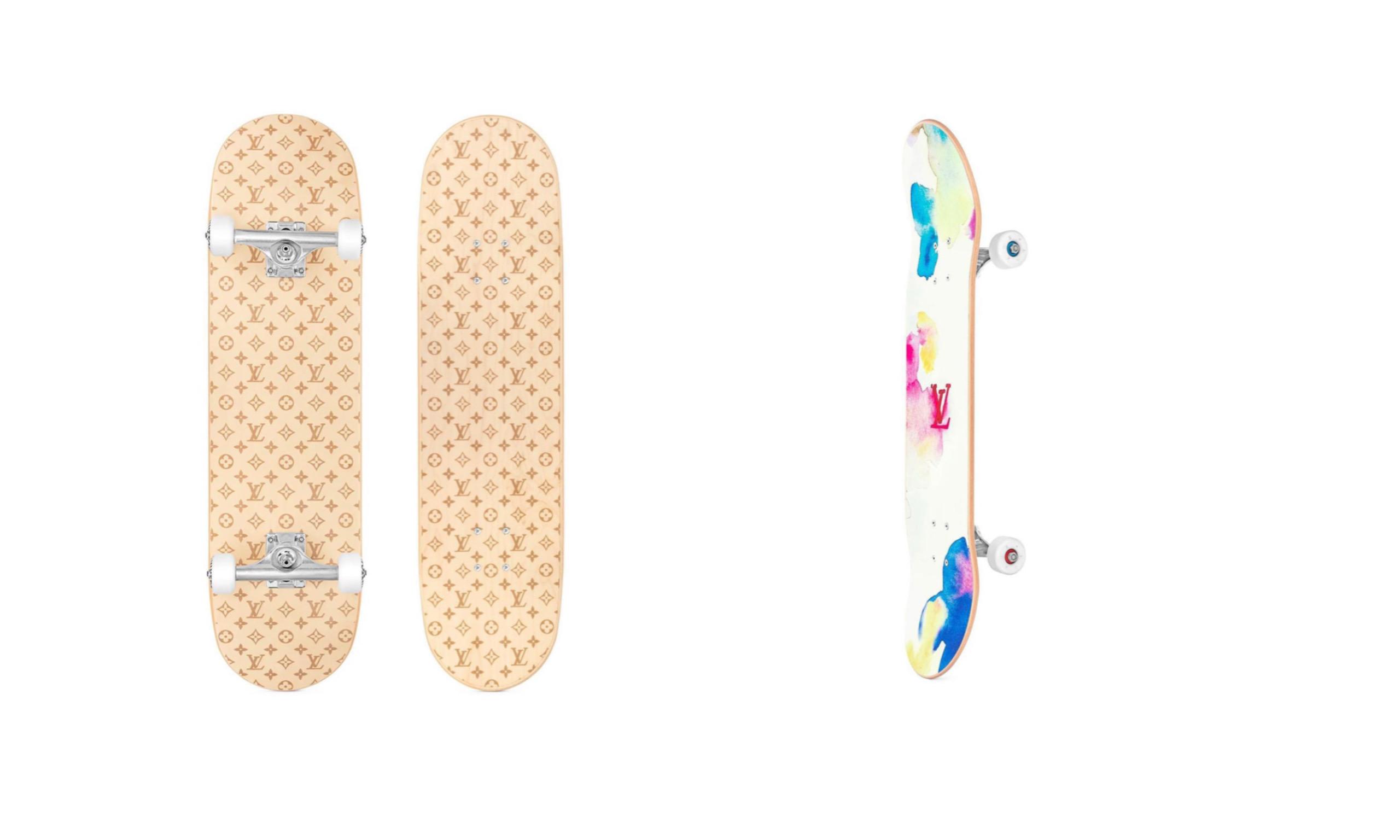 LOUIS VUITTON 2021 春夏滑板系列发布