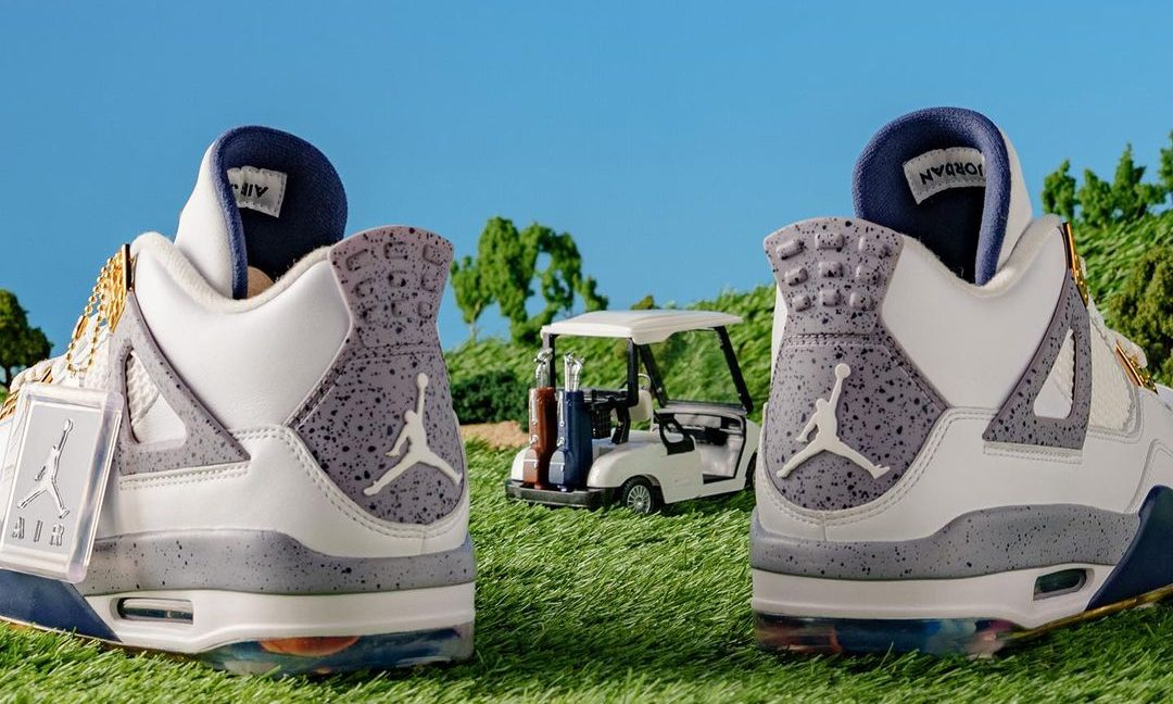 Eastside Golf x Air Jordan IV 细节近赏