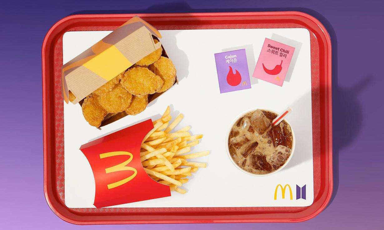 美国麦当劳公布财报,与 BTS 联名带来 283% 销售增长