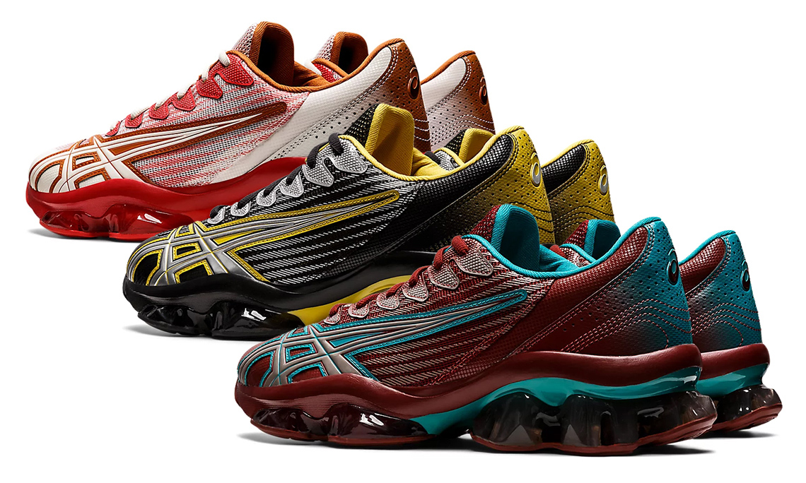 Kiko Kostadinov 携手 ASICS 推出全新 GEL-QUANTUM LEVITRACK 鞋款