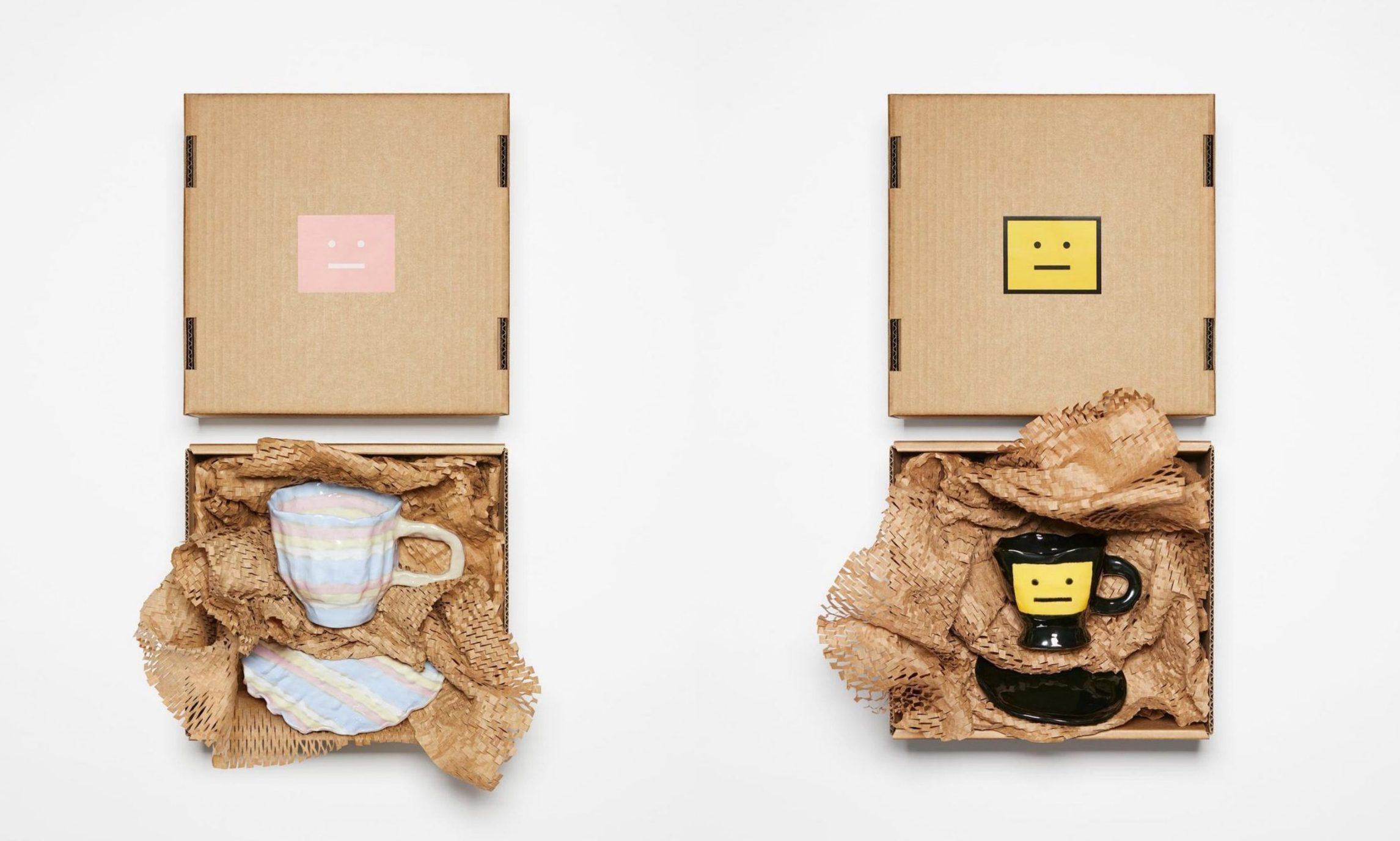 Acne Studios 再度携手艺术家 BETTUNIKA 打造限量杯碟套装