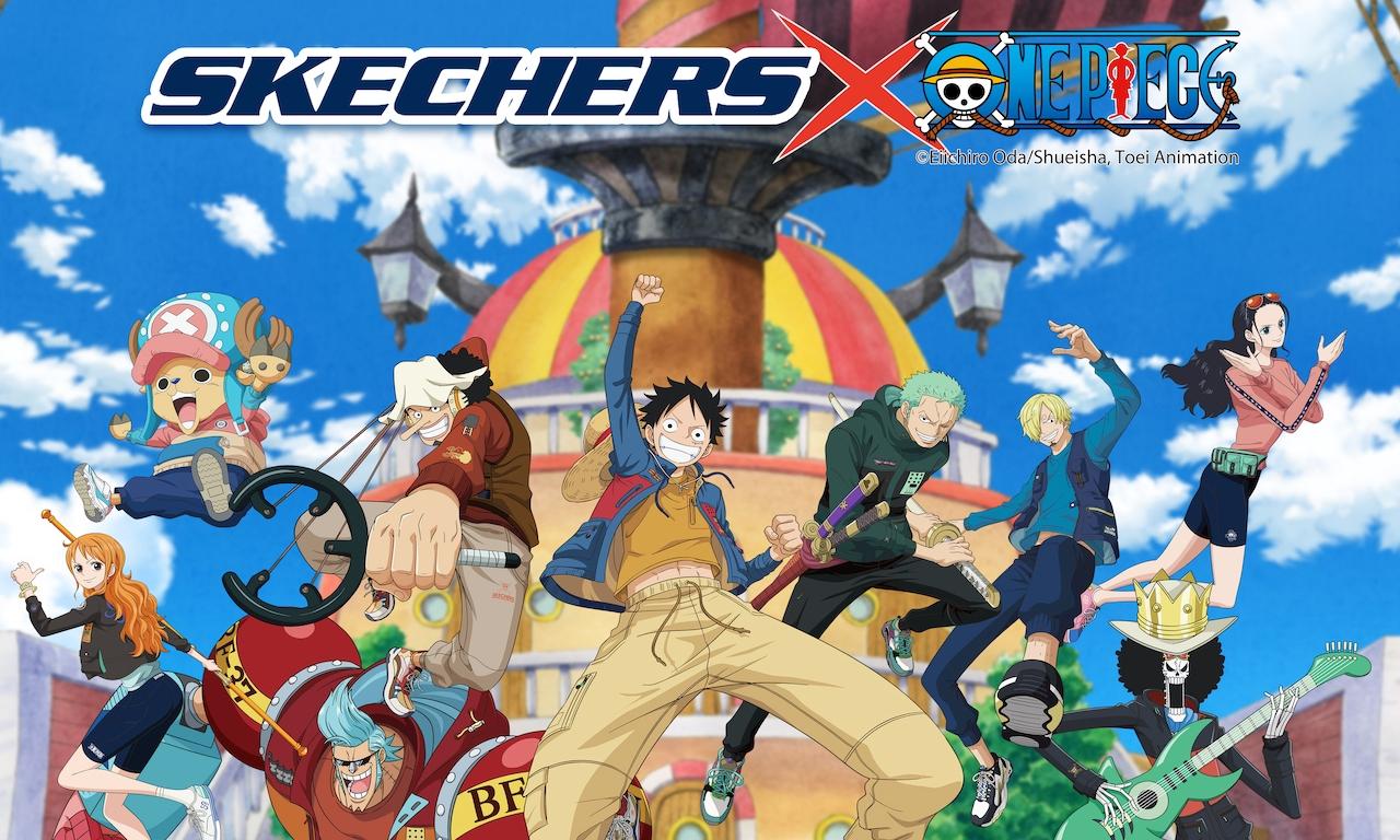 SKECHERS x ONE PIECE 联乘系列正式发布