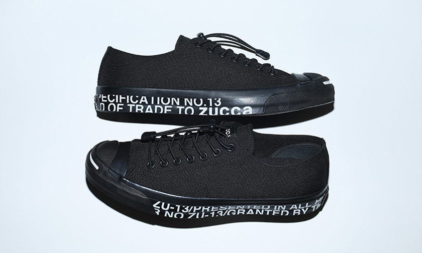 ZUCCa x CONVERSE Jack Purcell RH 联名鞋履登场