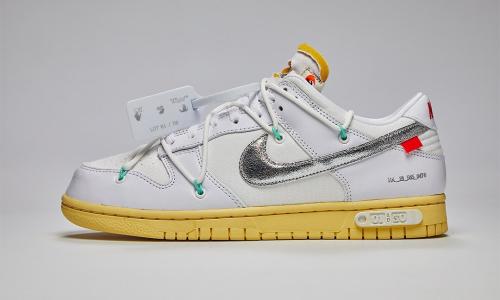 Off-White™ x Nike Dunk Low「1」&「50」 抽签正式启动