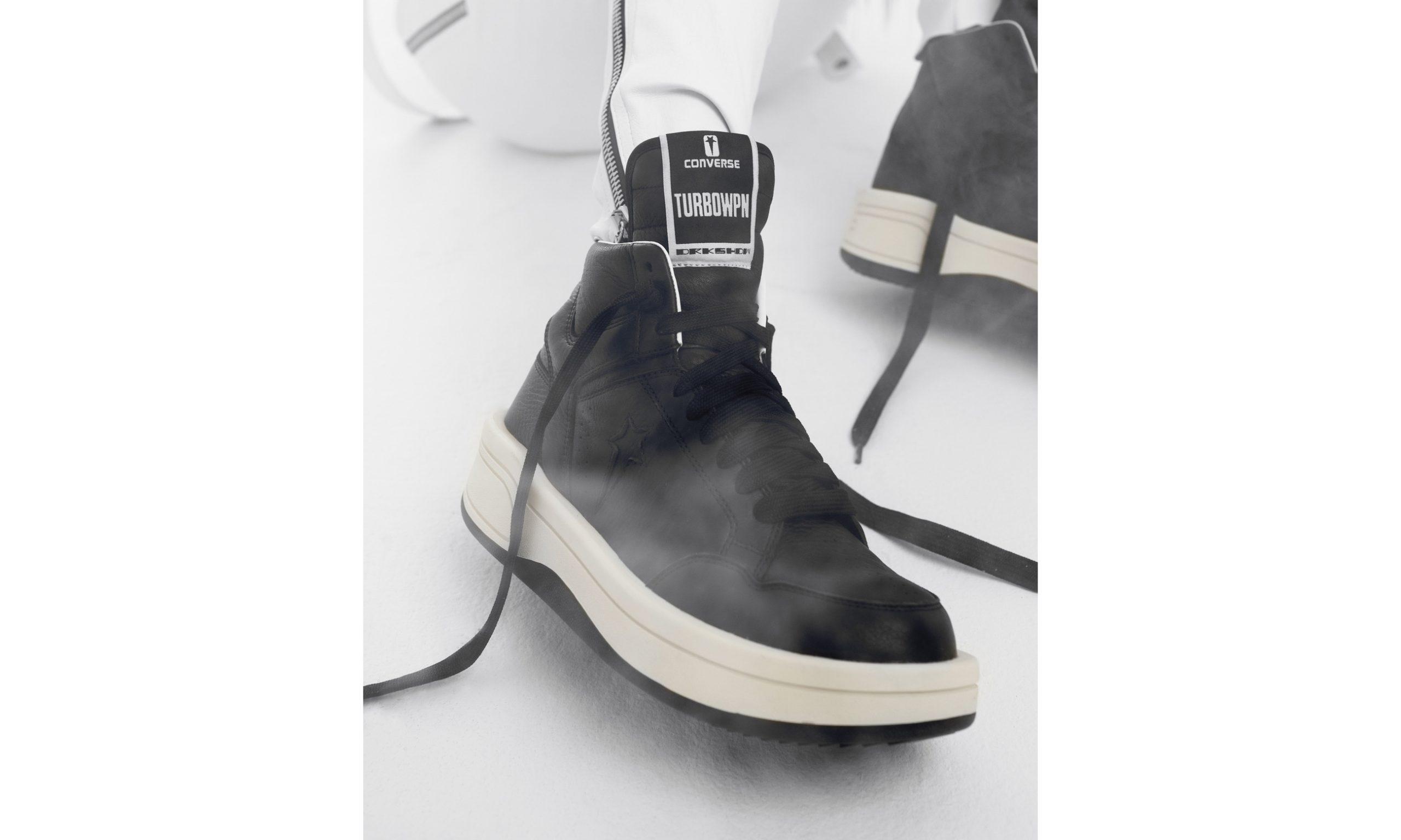 DRKSHDW x CONVERSE 全新联名 TURBOWPN 鞋款登场
