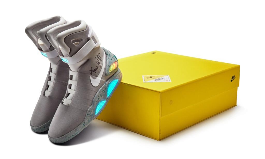 Michael J. Fox 亲签 Nike MAG 即将开启拍卖