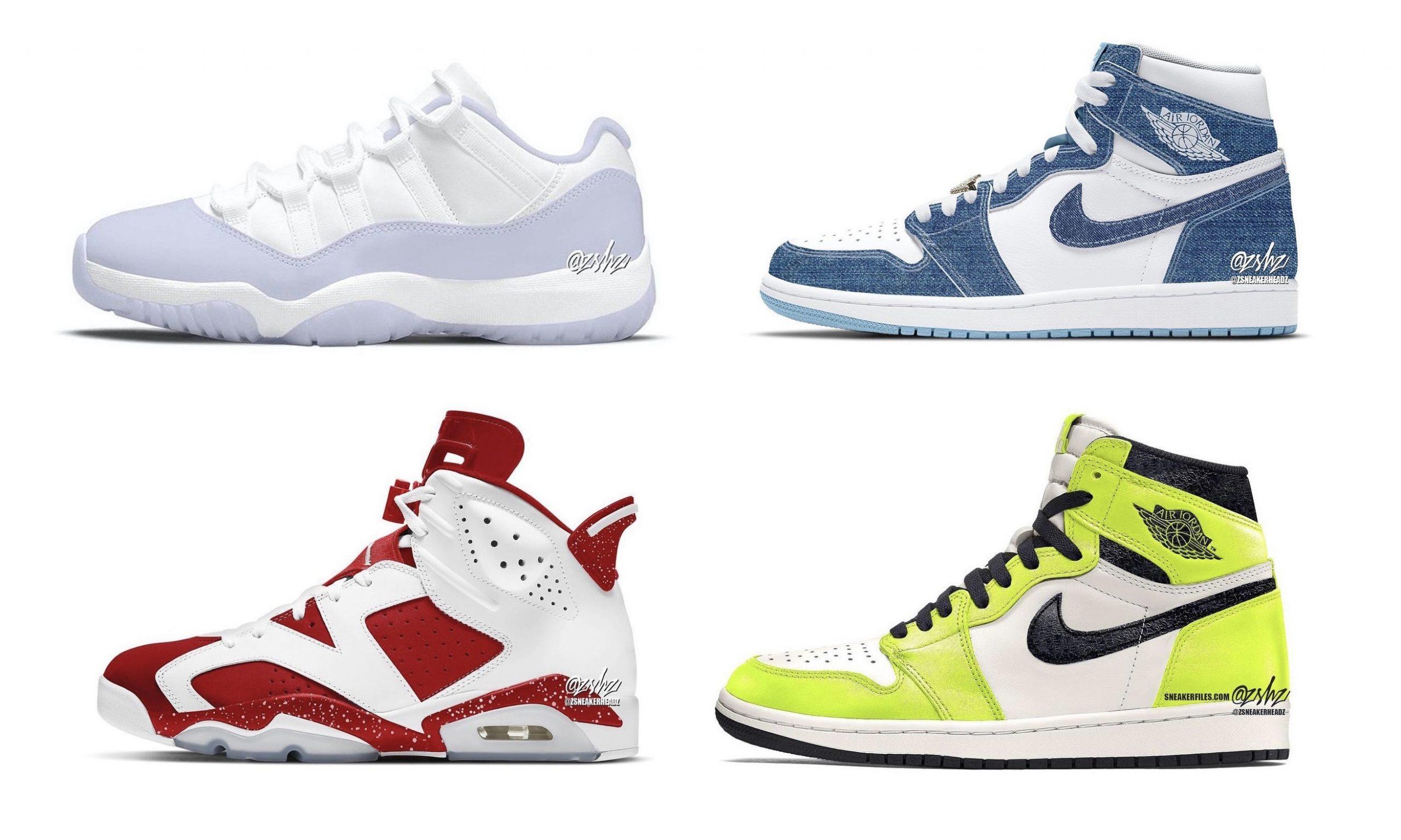 抢先预览 Jordan Brand 2022 夏季发售鞋款
