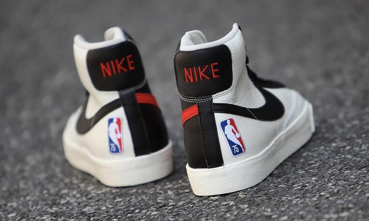 NBA x Nike Blazer Mid 75 周年鞋款发布