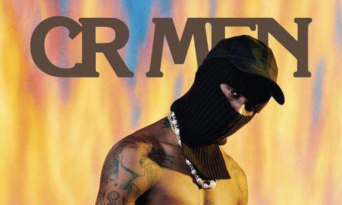 Travis Scott 出镜《CR MAN》最新封面