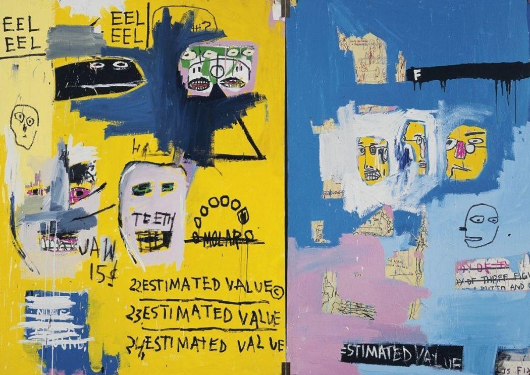 Jean-Michel Basquiat  新画作成为 Art Basel  最昂贵的作品