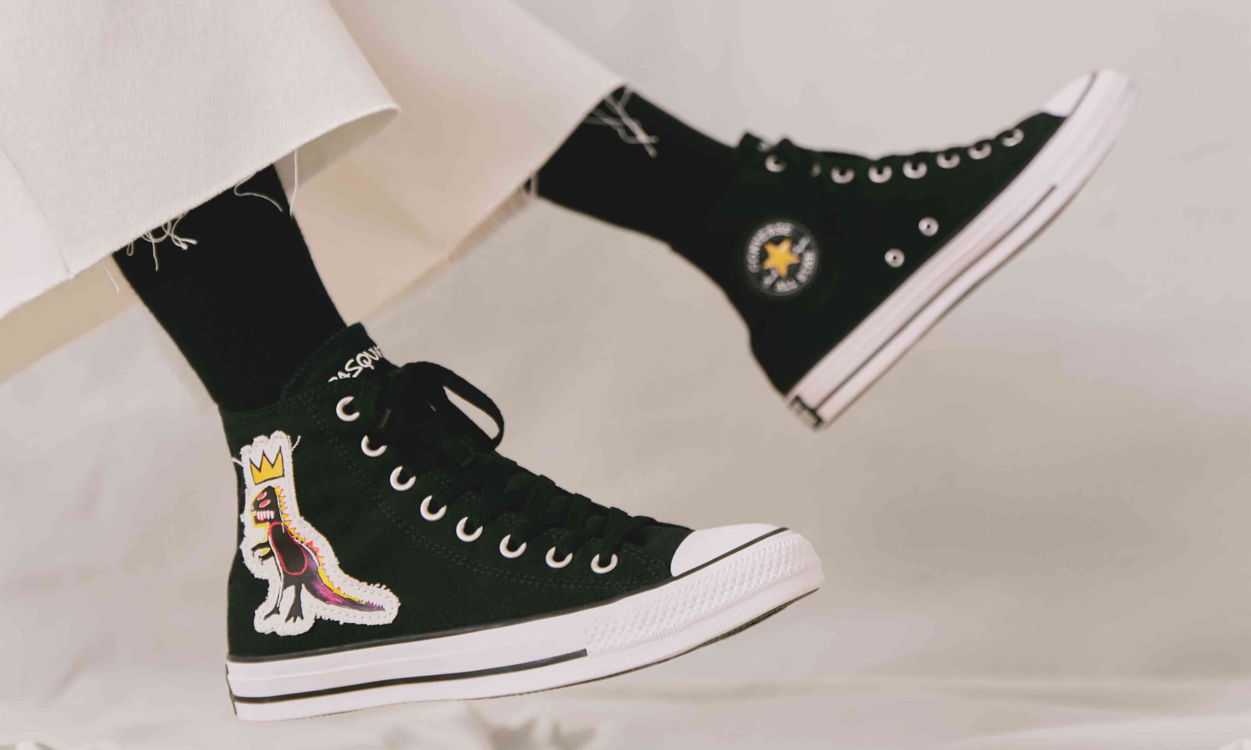 为经典加冕,CONVERSE 发布传奇涂鸦艺术家 Basquiat 全新合作系列